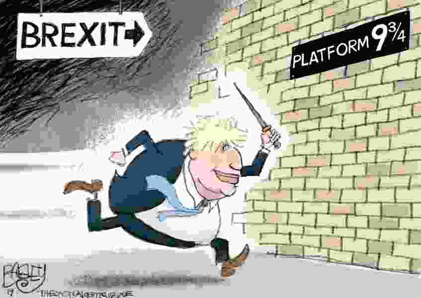 Bagley Cartoon: Hard Brexit