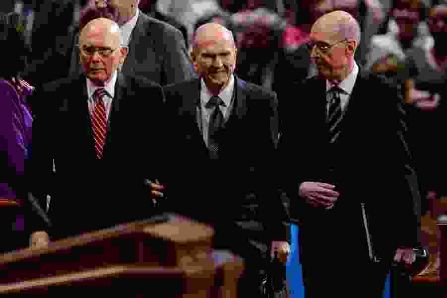Discover Christ's truths now, Latter-day Saint leader Russell Nelson says, 'time is running out'