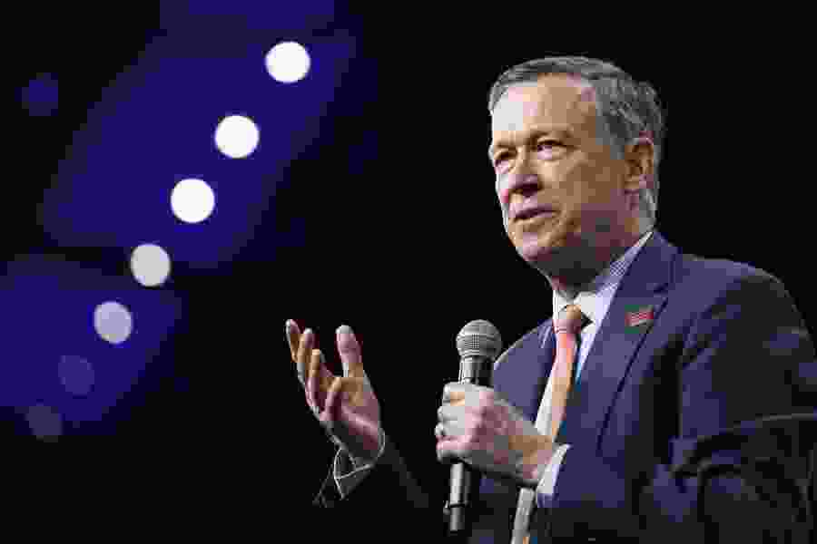 Ex-Colorado Gov. Hickenlooper says he's running for Senate