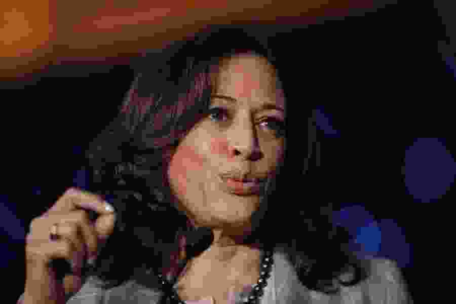 Kamala Harris joins impeachment call during back-to-back Democratic town halls