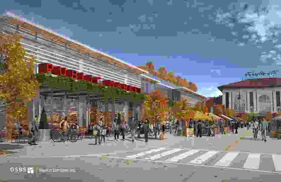 Where should Salt Lake City's year-round public market be built — downtown near the Rio Grande Depot or the Utah State Fairpark?