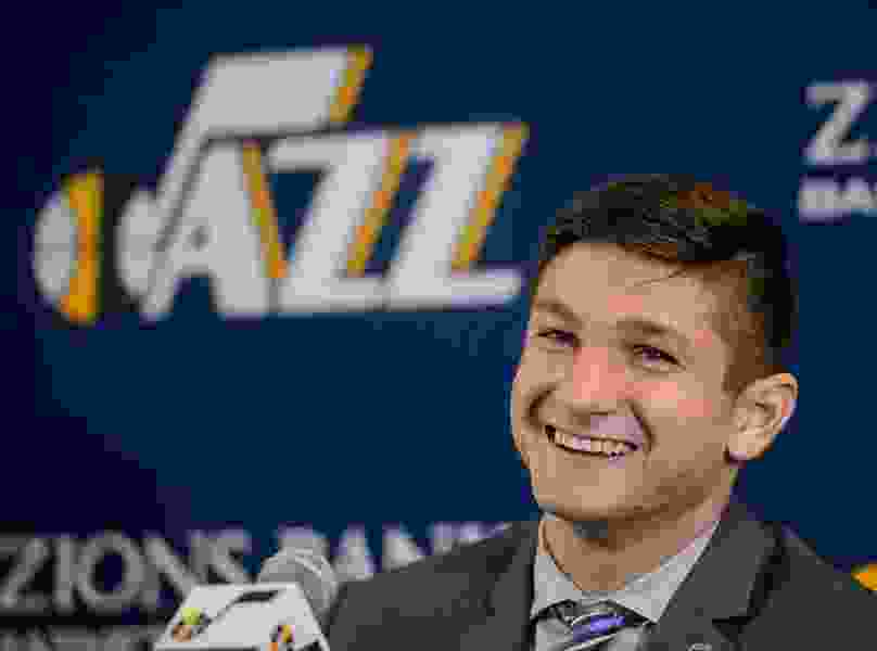 Jazz get a first look at Grayson Allen — and it's a mostly positive one