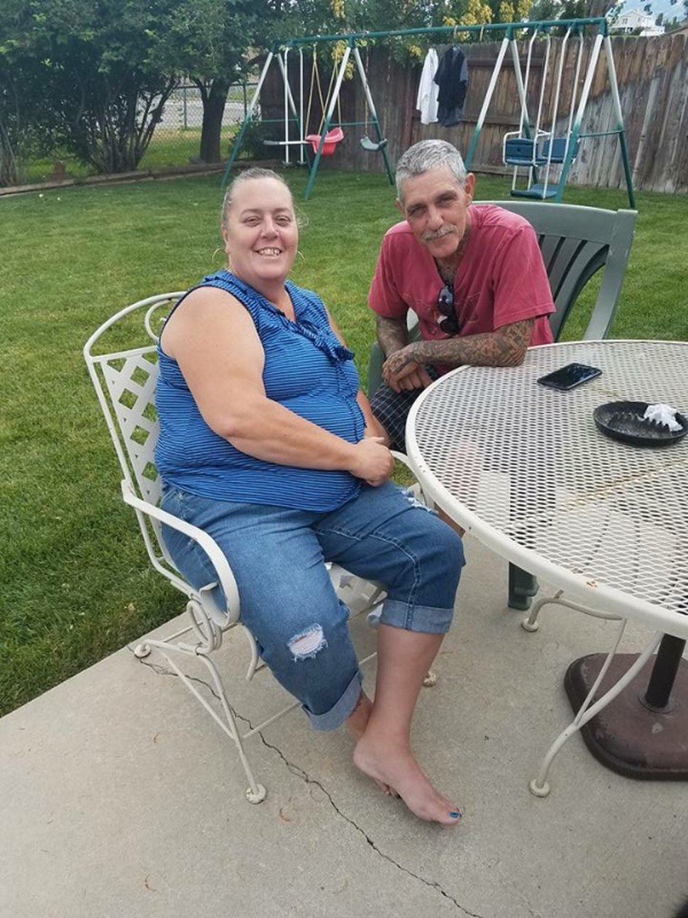(Courtesy GoFundMe/Maile Latu) Lloyd Everett Pace and his fiancee, Tami Lynn Woodard, were killed in a car crash that followed a drive-by shooting in Kearns on Tuesday night. Police said as four suspects sped away from the scene of the shooting in a pickup truck, they struck the car with Pace and Woodard inside.