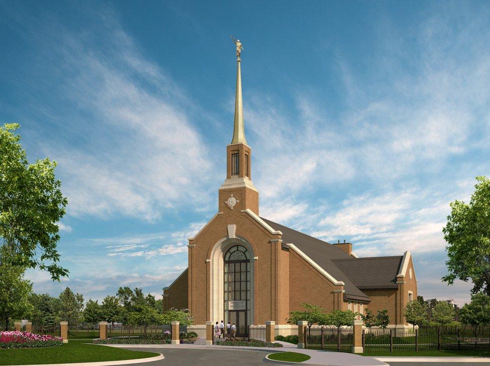 (Photo courtesy of The Church of Jesus Christ of Latter-day Saints) Winnipeg Manitoba Temple