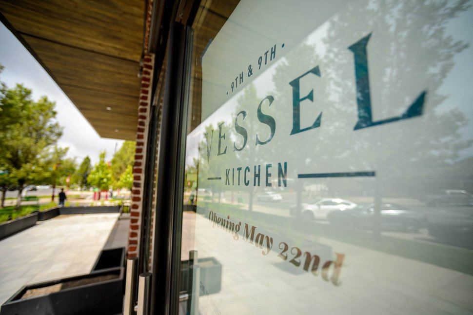 (Trent Nelson | The Salt Lake Tribune) The newest Vessel Kitchen location in Salt Lake City's popular 9th and 9th neighborhood on Wednesday, May 20, 2020. The spot will open Friday, May 22.
