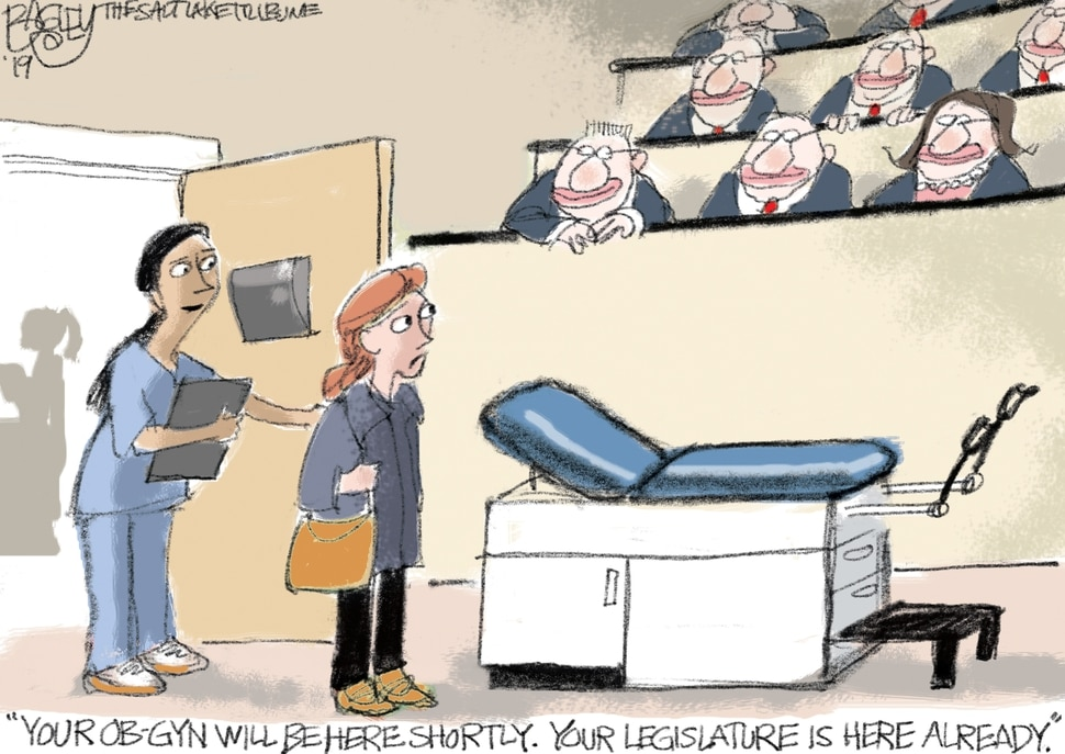 This Pat Bagley cartoon appears in The Salt Lake Tribune on Wednesday, Feb. 20, 2019.
