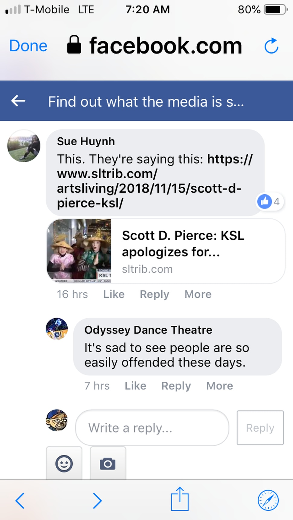 Scott D. Pierce: Odyssey Dance apologizes to anyone offended by racist TV appearance — but then denies it was racist