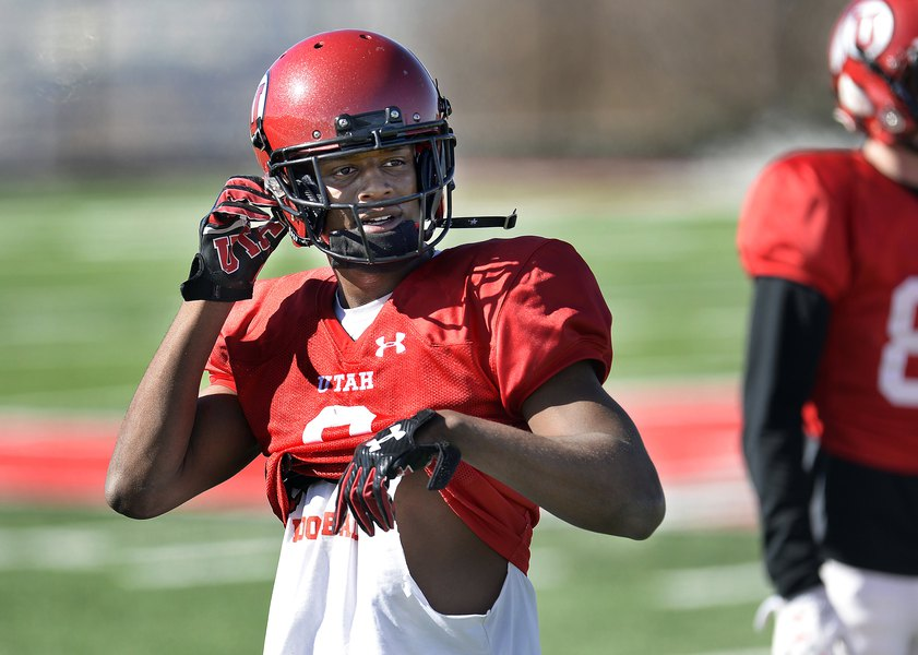 Utes receiver Bronson Boyd has made a name for himself this