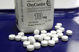 (Toby Talbot | AP file photo) Law enforcement agencies across Utah are participating in National Prescription Drug Take Back Day on Saturday, April 24, 2021, to help people safely disposed of unused or expired prescription medication, such as OxyContin.