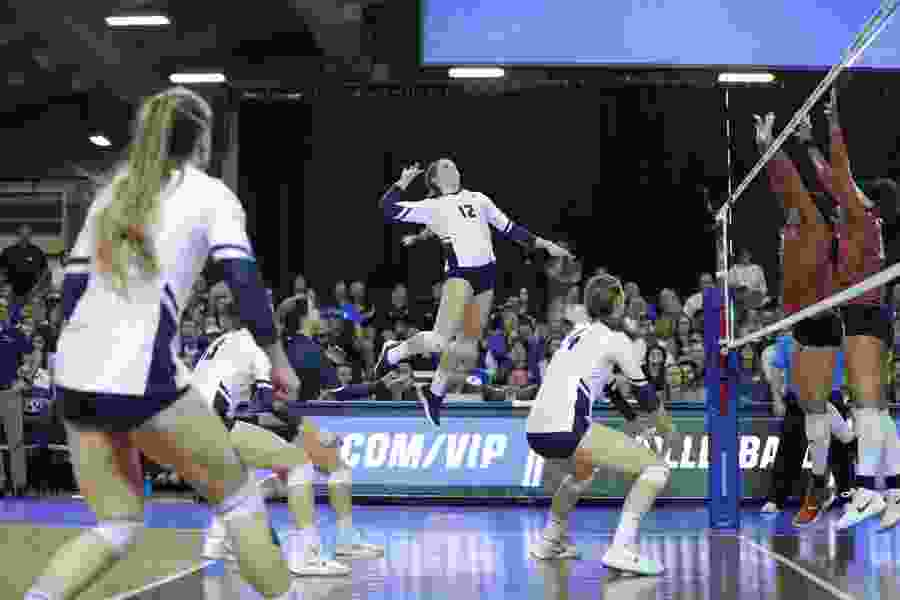 BYU sweeps Texas in NCAA women's volleyball regional final, moves on to Final Four