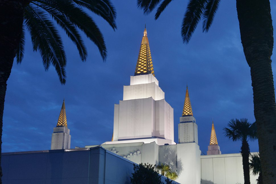 (Courtesy photo | The Church of Jesus Christ of Latter-day Saints) Oakland Temple.