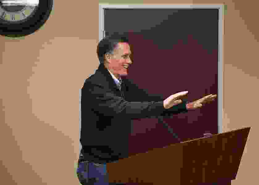 Letter: Romney is a well-lubricated weather vane