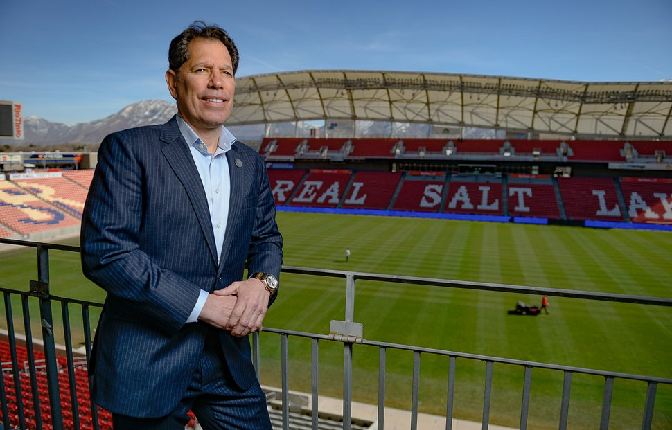 (Francisco Kjolseth | The Salt Lake Tribune) Real Salt Lake Chief Financial Officer Andy Carroll, shown here on Thursday, March 5, 2020.