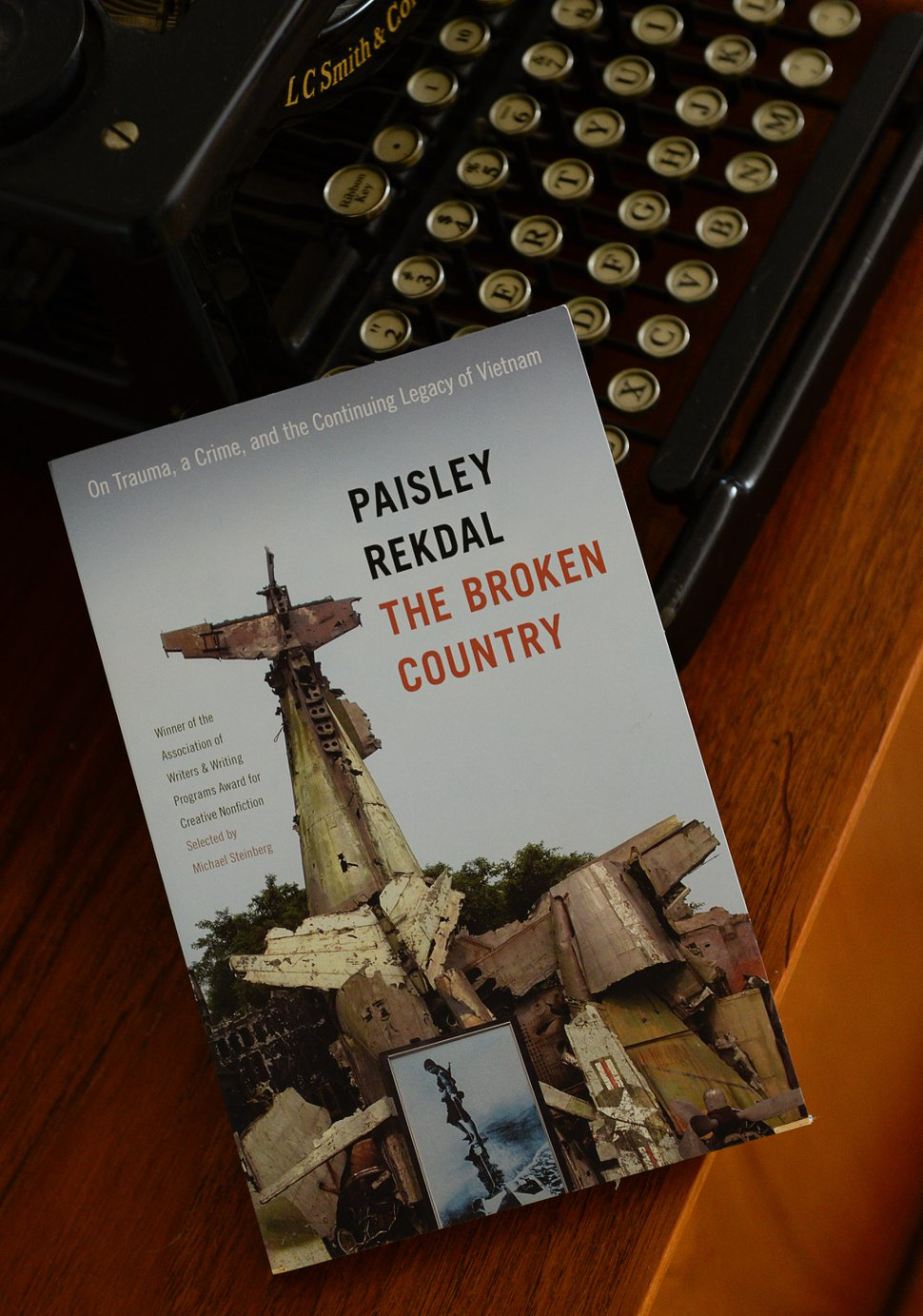 (Francisco Kjolseth | The Salt Lake Tribune) University of Utah poet and professor Paisley Rekdal has written new book about the legacy of trauma of the Vietnam war. The book begins with the 2012 stabbing at Smith's by Kiet Thanh Ly, the homeless man who inexplicably began stabbing white people, including a U. English student.