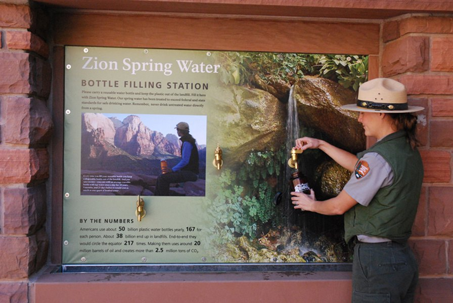 National Park Service reverses ban on bottled water - The ...