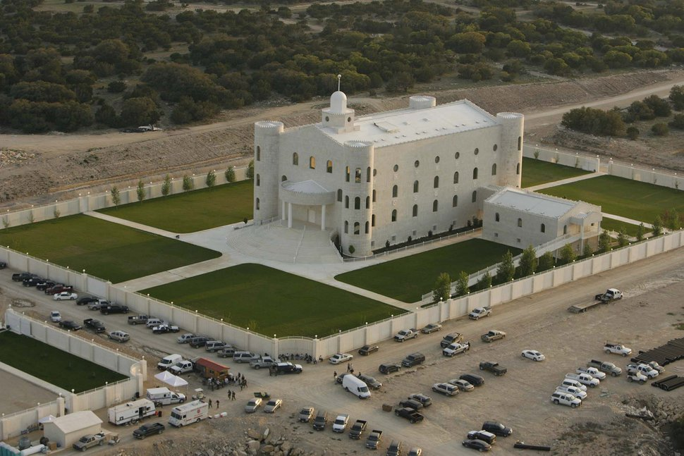 Trent Nelson | The Salt Lake Tribune Aerial views of the FLDS compound YFZ
