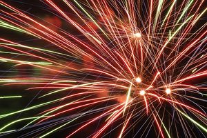 (Mark Hansen | The Salt Lake Tribune) Residents aren't allowed to use fireworks in Ogden until November.