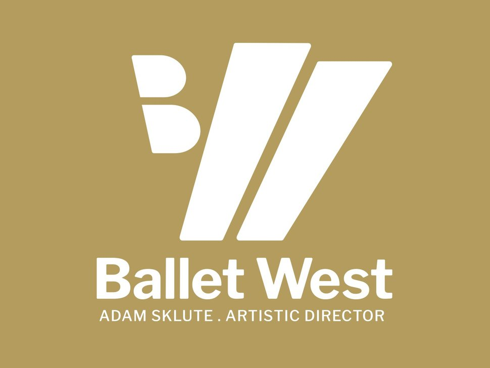 (Image courtesy Ballet West) The new logo for Ballet West, the Salt Lake City-based dance company, which was introduced Wednesday, Feb. 27, 2019.