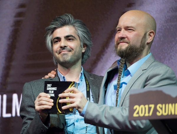 Rick Egan | The Salt Lake Tribune Director Feras Fayyad receives the World Cinema Grand Jury Prize: Documentary ÒLast Men in Aleppo,Ó at the 2017 Sundance Film FestivalÕs Awards Ceremony, Saturday, January 28, 2017.