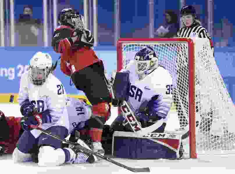 So they meet again: U.S., Canada face off for women's hockey gold