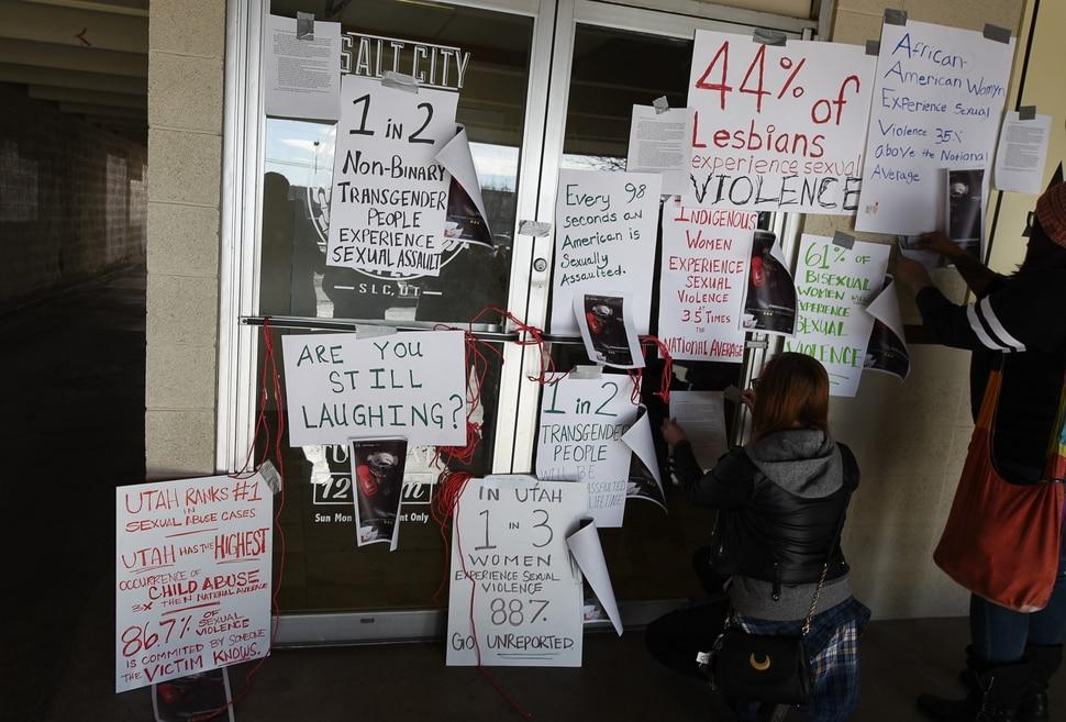 Rape kit party gift sparks outrage against salt lake for Tattoo shops salt lake city utah
