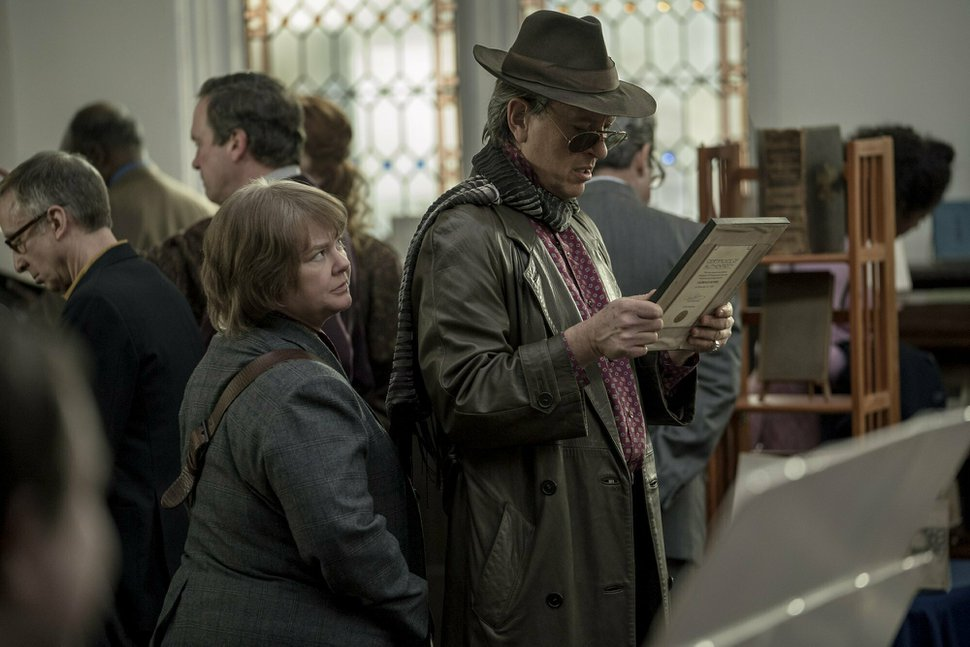(Mary Cybulski | courtesy Fox Searchlight Pictures) Melissa McCarthy and Richard E. Grant in a scene from