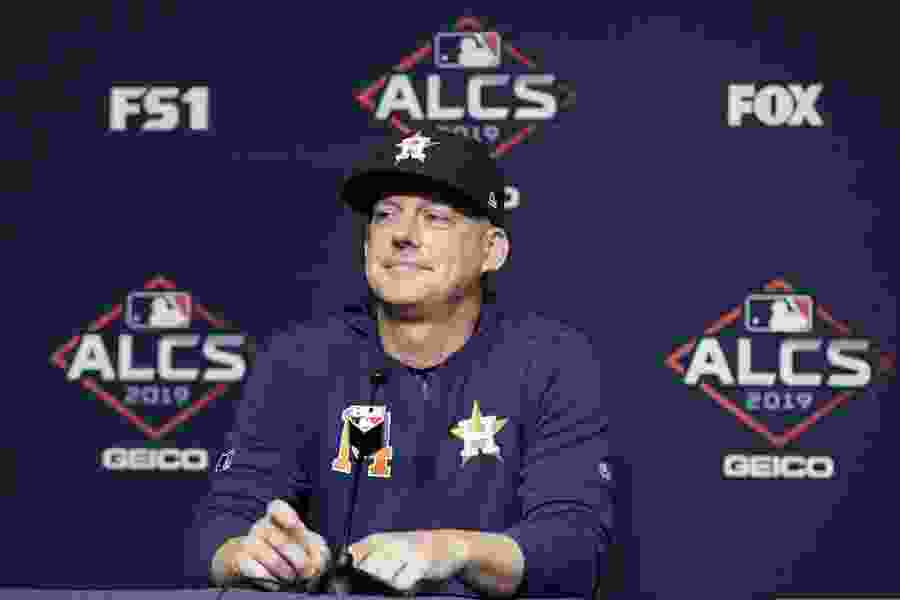 Houston Astros' AJ Hinch, Jeff Luhnow fired for sign stealing