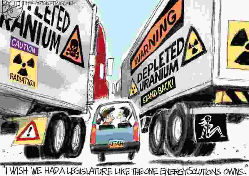 Bagley Cartoon: Utah's Hot Topic