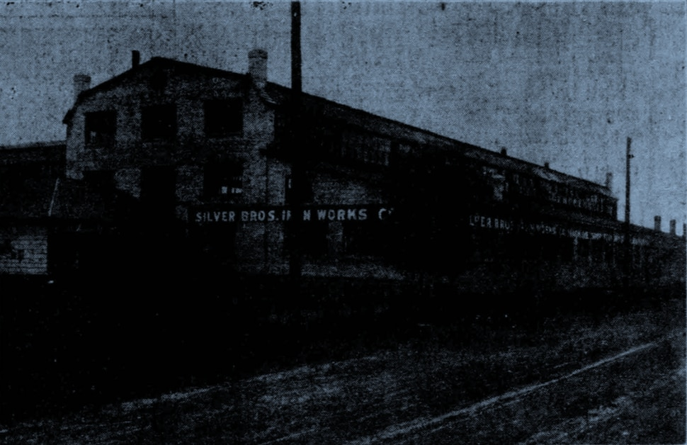 (Deseret Evening News, courtesy of Jay Miller) A 1907 photo of what was then called Silver Bros. Iron Works, located at about 500 West and 700 South in Salt Lake City.