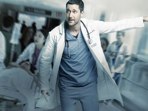 """(Photo courtesy NBC Universal) Ryan Eggold as Dr. Max Goodwin in """"New Amsterdam."""""""