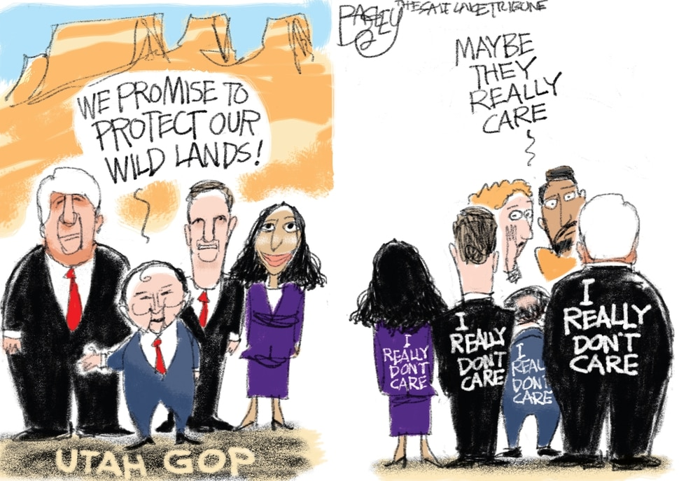 This Pat Bagley cartoon appears in The Salt Lake Tribune on Friday, June 22, 2018.