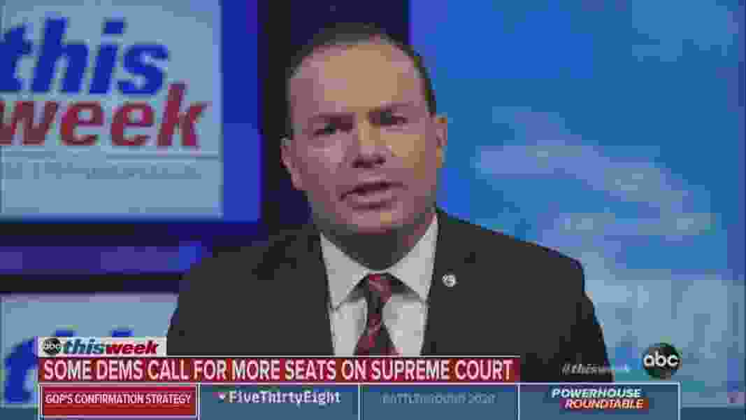 Supreme Court should kill the Affordable Care Act, says Sen. Mike Lee, and he wants Amy Coney Barrett to help