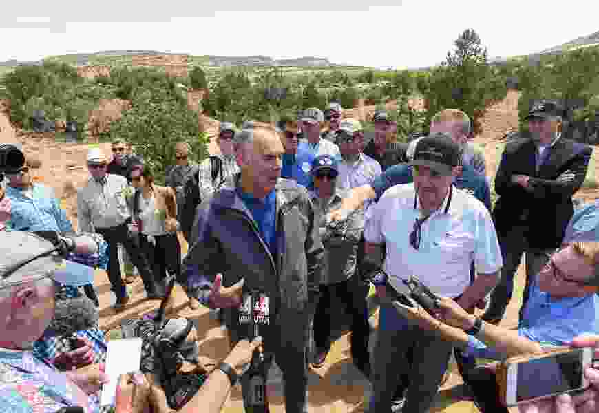 Bears Ears, Grand-Staircase won't be eliminated, Zinke says, but they may be shrunk