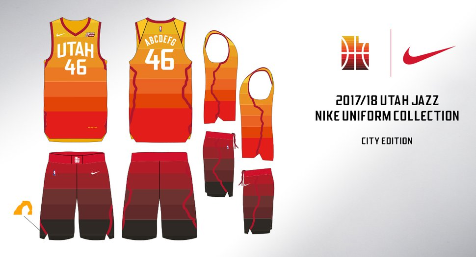 In Their New Redrock Inspired Uniforms The Utah Jazz Are Aiming To
