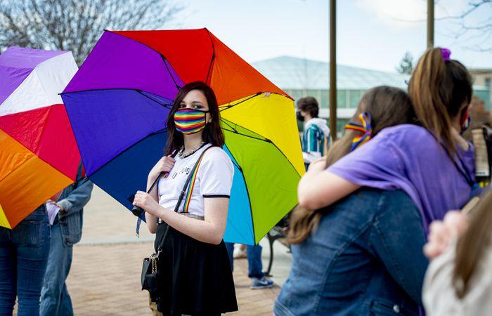 Rainbow Day at BYU