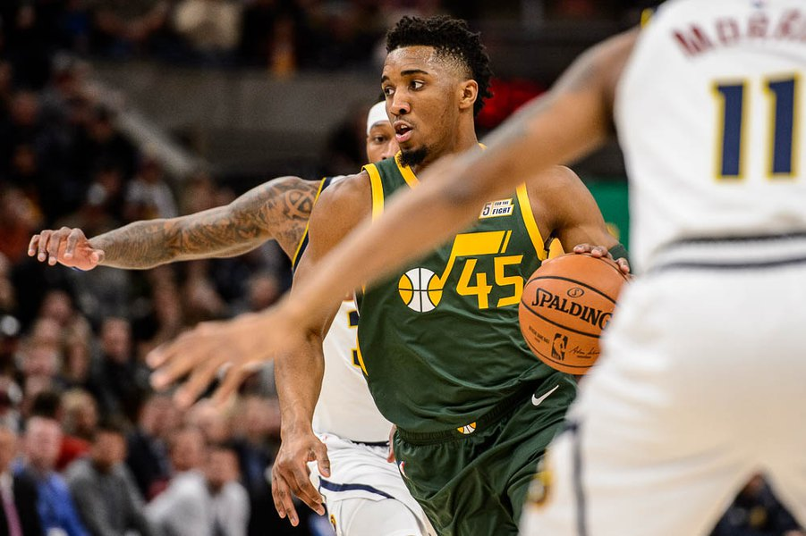 b9b73cfcdd50 Donovan Mitchell finishes 11th in All-Star fan voting and Rudy Gobert 21st