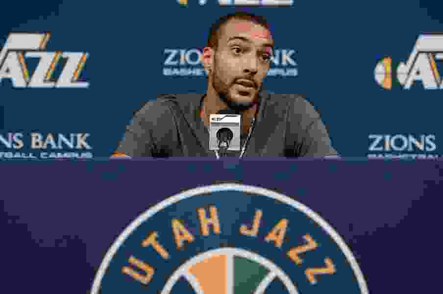 Rudy Gobert Q&A: Jazz center talks about his latest NBA award, Mike Conley and next season
