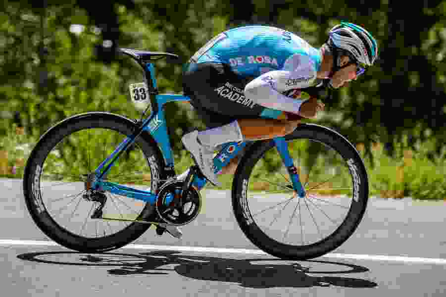 Craddock has overall lead in Tour of Utah after runner-up finish in Stage 1