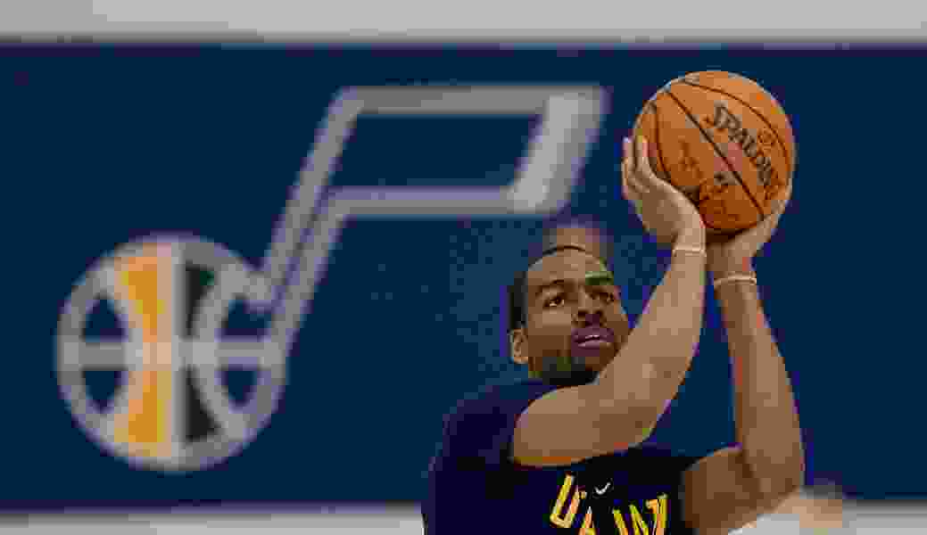 Derrick Favors says Alec Burks is back to his pre-injury abilities. Burks says he's even better.