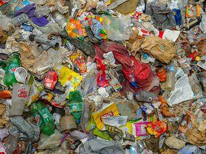 (Trent Nelson | The Salt Lake Tribune)  Garbage.