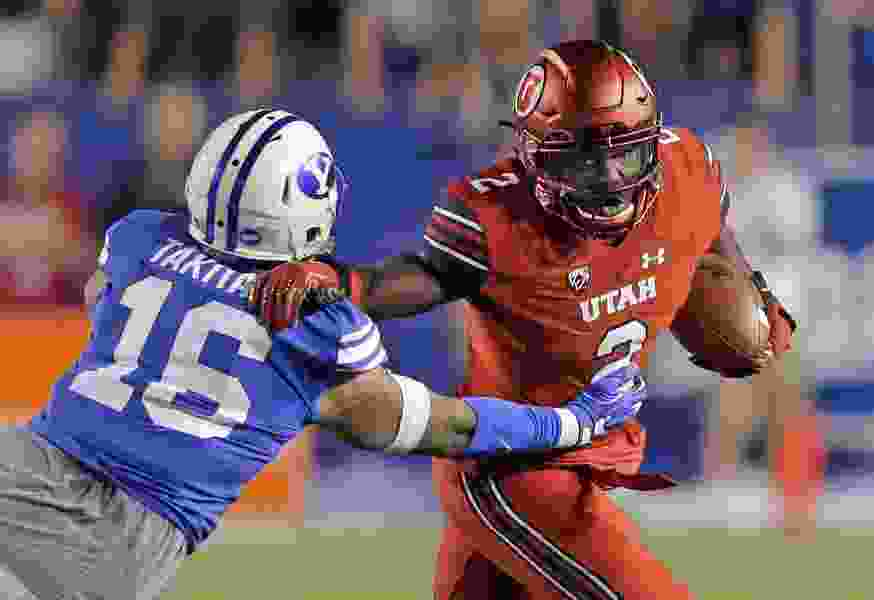 Utes' Zack Moss is 'an elite back,' Kyle Whittingham says, although Armand Shyne is not forgotten