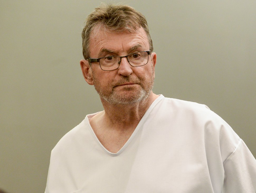 (Leah Hogsten   The Salt Lake Tribune) Sterling Van Wagenen, 72, during his July 9, 2019, sentencing in West Jordan. Van Wagenen was sentenced to six years to life for sexually abusing a young girl.