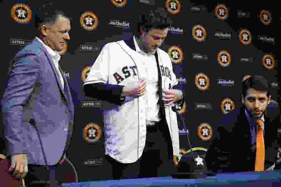 Astros fire assistant GM Brandon Taubman over clubhouse incident with reporters