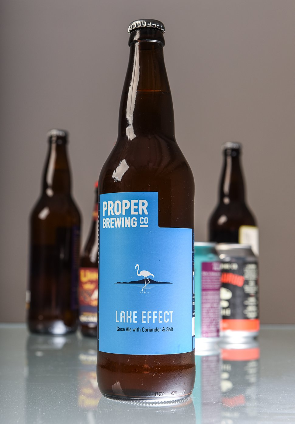 (Francisco Kjolseth | The Salt Lake Tribune) Utah's best beer names. Lake Effect gose ale by Proper Brewing Co.