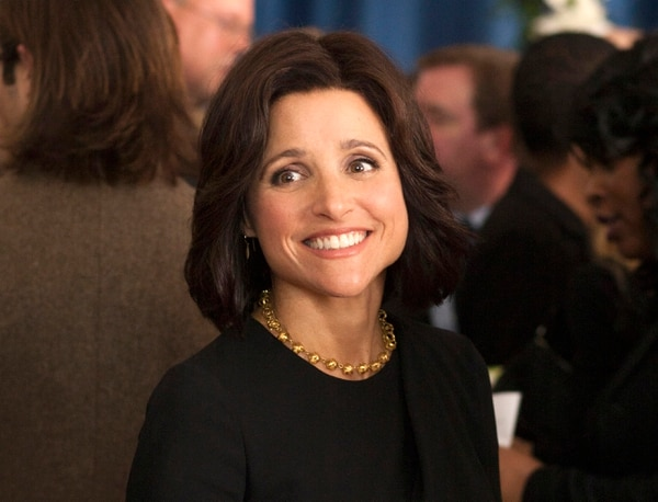 In this image released by HBO, Julia Louis-Dreyfus appears in a scene from