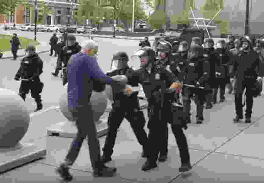 Jamelle Bouie: The police are rioting. We need to talk about it.
