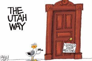 Behind Closed Doors | Pat Bagley