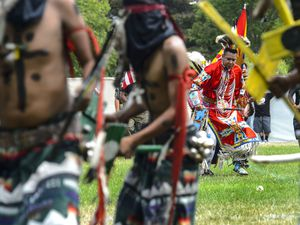 (The Salt Lake Tribune) Native American celebration takes place at Salt Lake City's Liberty Park in 2017. There is a new translation out of the New Testament for Indigenous peoples.