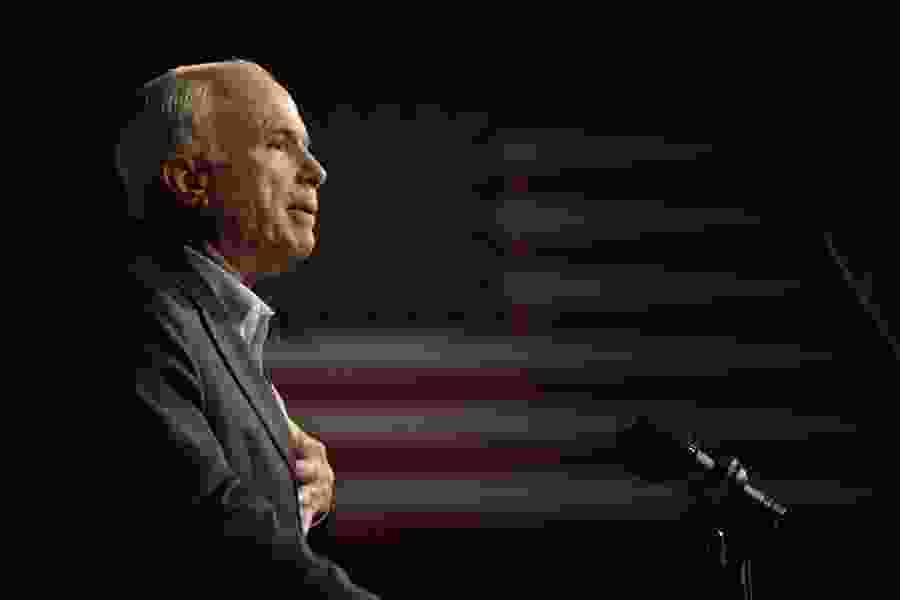 Gehrke: In a tumultuous time, the Senate will miss Sen. John McCain's voice of conscience