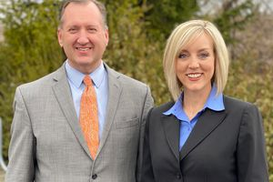 (Courtesy photo) State Auditor John Dougall on Tuesday became the running mate of Republican gubernatorial candidate  Aimee Winder Newton.
